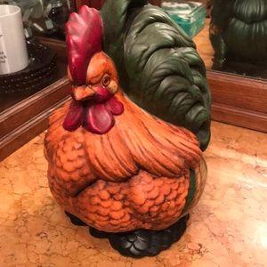 Fabulous VTG ceramic chicken (Cochin) cookie jar